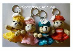 Keychain HP strap Crochet