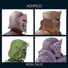 Ashfeld Iron Days For Honor Characters, Chibi Characters, Fantasy Characters, Fantasy Armor, Medieval Fantasy, Fallout Art, For Honour Game, Dark Souls Art, Paladin