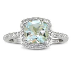 2 3/4ct Cushion Cut Green Amethyst and Diamond Ring in Sterling Silver SuperJeweler, http://www.amazon.com/dp/B008I4RY7C/ref=cm_sw_r_pi_dp_LVOnqb1541N2T