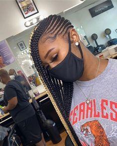 Lemonade Braids Hairstyles, Feed In Braids Hairstyles, Black Girl Braids, Braided Hairstyles For Black Women, Baddie Hairstyles, Braids For Black Hair, Girls Braids, Weave Hairstyles, Protective Hairstyles