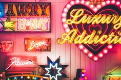 Be still my heart - so in love with neon! God's Own Junkyard, Soho - The Londoner