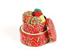 Mini Holiday Cookie Tin