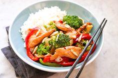 Turkey Recipes, Chicken Recipes, Dinner Recipes, Chicken Meals, Keto Chicken, Stir Fry Recipes, Cooking Recipes, Chicken Broccoli Stir Fry, Asian Recipes