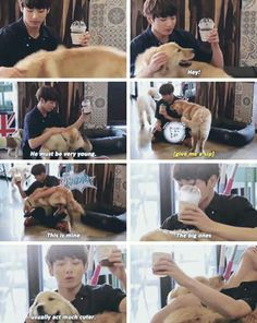 He attracts dogs too cx