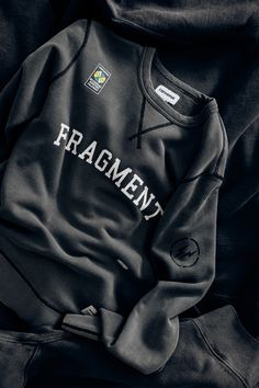 Converse x Fragment Essentials Crewneck #Converse #Fragment #Fashion #Streetwear #Style #