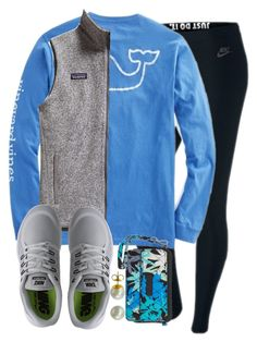 """Comment if you think shopping is a sport"" by hgw8503 ❤ liked on Polyvore featuring NIKE, Patagonia, Vera Bradley, Majorica, women's clothing, women, female, woman, misses and juniors"