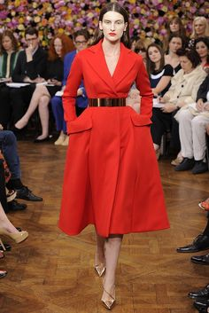 New Look by Raf Simons - Christian Dior Fall Couture 2012