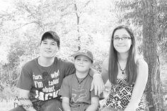 Astounding Photography  September 2014 Family Session Siblings B&W