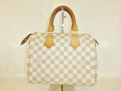 louis vuitton cream damier speedy 25