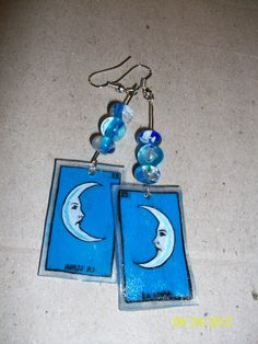 #23 La Luna!!! I love to make loteria earrings!!!