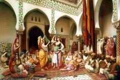 yy Arabic Characters, Story Characters, Arabian Art, Mata Hari, Islamic Architecture, Ottoman Empire, North Africa, Islamic Art, Istanbul