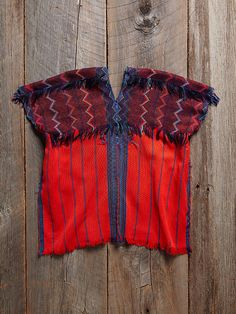 Free People Vintage Guatemalan Huipil Top, $328.00