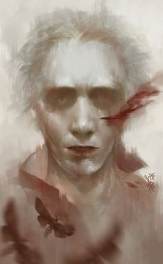 "Absolutely stunning artwork! ""Crimson Peak"" by soanvalentine on deviantart"