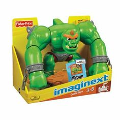 "Imaginext Castle Ogre - Fisher-Price - Toys""R""Us Ryder Paw Patrol, Power Rangers Ninja Steel, Mr Potato Head, Fisher Price Toys, Mega Pack, Cool Toys, Weird Toys, Awesome Toys, Baby Store"