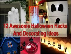 12 Awesome Halloween Hacks And Decorating Ideas - Find Fun Art Projects to Do at Home and Arts and Crafts Ideas | Find Fun Art Projects to Do at Home and Arts and Crafts Ideas