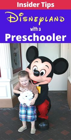 Visiting Disneyland with a preschooler? These are the insider tips for taking preschoolers to Disney!