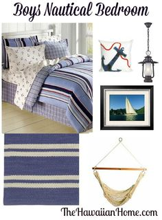Boys Nautical Anchor Bedroom