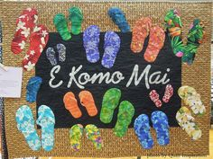 """E Komo Mai"" by Ellen Eller, quilted by Elaine Beattie.  Maui quilt shop design.  2015 DVQ show, photo by Quilt Inspiration."