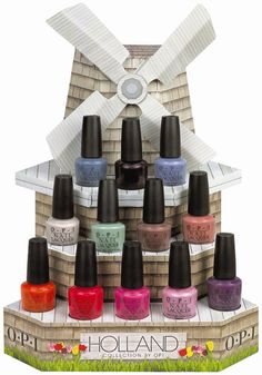 The OPI Holland Spring/Summer collection 2012.   Hmm....which one do I get first?