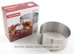 Rozsdamentes állítható tortakeret - tortagyűrű - Tescoma
