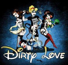 Disney Princesses Gone Bad. Goth Disney, Dark Disney, Disney Marvel, Disney Love, Disney Art, Disney Pics, Disney Fantasy, Naughty Disney Princesses, Twisted Disney Princesses