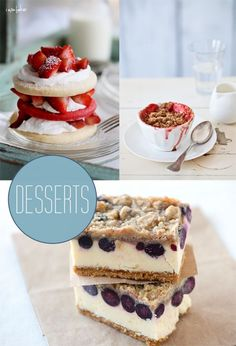 summer desserts | SUMMER_DESSERTS Not just desserts here. There is a really good recipe ...