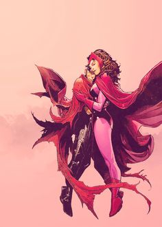 Wiccan & Scarlet Witch (Mother & Son)