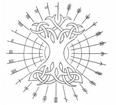 Ogham Runes | ogham runes pronounced owe em they are groups of horizontal and ...