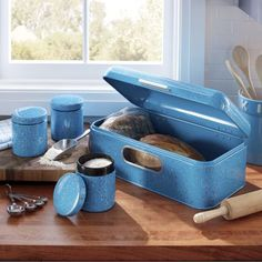 Canister Sets, Canisters, Food Storage, Countertops, Bread Boxes, Metal, Color, Vanity Tops, Preserving Food