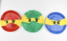 LEGO Ninjago Paper Plate Craft - Sippy Cup Mom