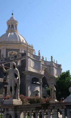Secret letters on the cathedral of Catania in Sicily and the story behind them.