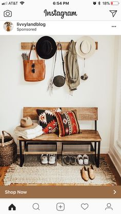 Cute bench for entry?