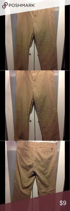 Polo by Ralph Lauren cotton khakis Polo by Ralph Lauren 100% cotton khakis.  Size 34 x 30 Polo by Ralph Lauren Pants Chinos & Khakis