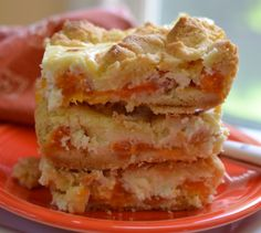 town woman apricot cheesecake crumble bars fresh apricot cream cheese ...