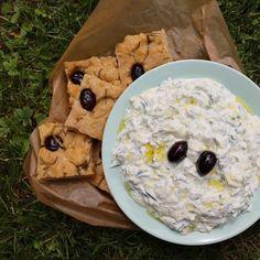Tzatziki, Foodblogger, Zucchini, Oatmeal, Breakfast, Greek, Fresh, Crickets, Health