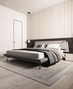 Bed Design, House Design, Revit Architecture, Home Decor Kitchen, Modern Luxury, Master Bedroom, Bedroom Wardrobe, Luxury Bedding, Furniture Design