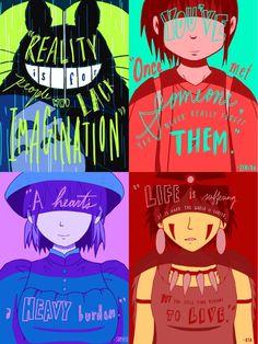 Studio Ghibli Posters by janelleLOVESudon on DeviantArt