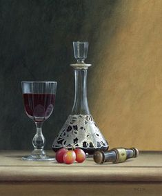 Artist: Tim Gustard; Painting: Freshly Decanted