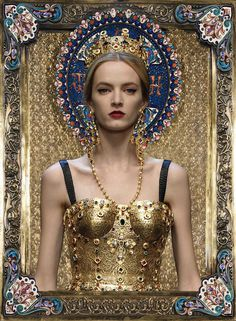 Dolce & Gabbana #byzantium. Coolest collection ever.