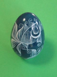 goose egg skrobanki  drapanki  Polish pisanki by MarkMalachowski, $80.00