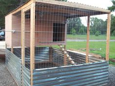 Ideal coop for chickens