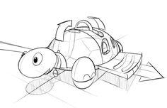 The Pull Along Garden Turtle by Adam Borton, via Behance