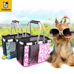 2017 Dog Carrier  Foldable Portable Hand Basket Blue Pet Carrier,large and small,Fashion Creative Dog Carrier,Breathable Safety
