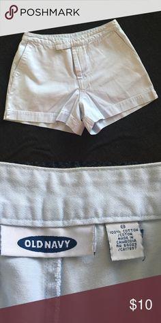 Old Navy Light Blue Cotton Shorts Old Navy Light Blue Cotton Shorts Old Navy Shorts