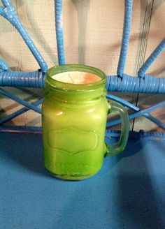 16 oz. Mason Jar Candle Eucalyptus Mint Candle by MaidenLongIsland