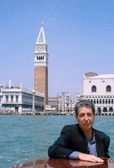 Leonard Cohen in Venice