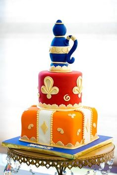 1000 images about arabian nights party on pinterest for Arabian cake decoration