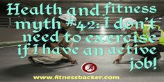 #Fitness is for everyone not just lazy people! #health #fitfam