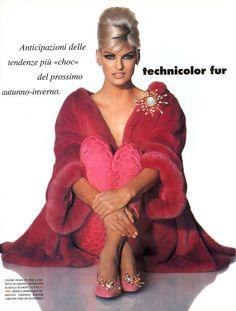 Vogue (Italia) 1991 | Linda Evangelista