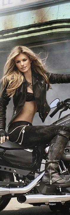 Marissa Miller for Harley DAvidson Ad                                                                                                                                                                                 More